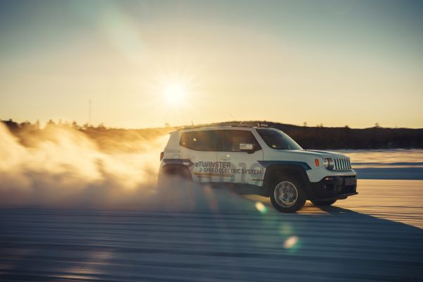 GKN trials world-first battery electric vehicle with two-speed transmission and torque vectoring