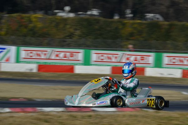 Turney and Ardigo takes podium positions in Winter Cup Lonato