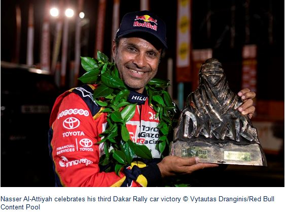 Dakar winner Al-Attiyah wants dream homecoming at Qatar Rally