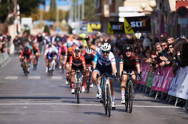 Lotta Lepistö wins final stage at the Setmana Ciclista Valenciana
