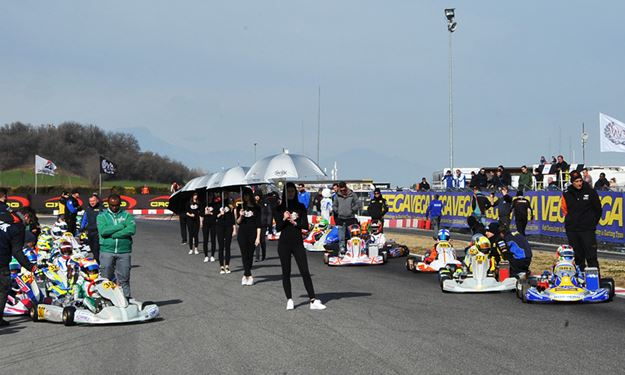 Exciting finals at the WSK Super Master Series in Lonato.