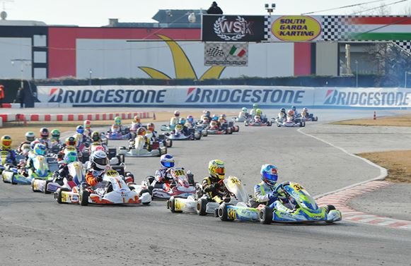 New provisional standings at WSK Super Master Series