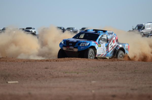 ED Racing's Essa Al-Dossary wins opening Ha'il Nissan Rally stage
