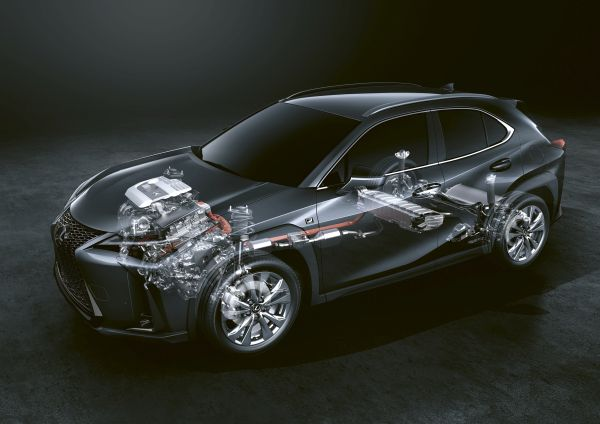 Imaginative thinking used to engineer the Lexus UX 250h self-charging hybrid