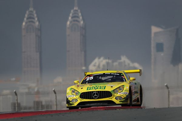 Mercedes-AMG with class win and top ten result in Dubai 24-hour race