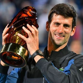 Novak Djokovic - time to meet his greatest opponent, thanks to Seiko