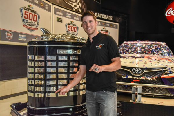 Two-Time DAYTONA 500 Champion Denny Hamlin Honored at Annual Champion's Breakfast