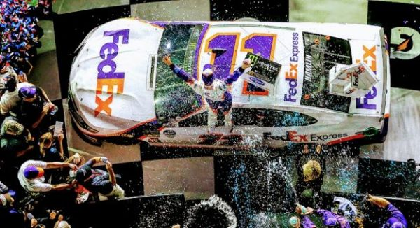 Denny Hamlin Wins DAYTONA 500 for 2nd Time, + Video