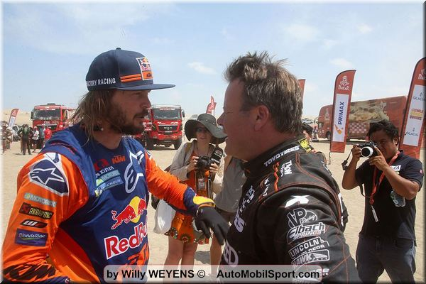 Video Dakar Rally 2019 finish
