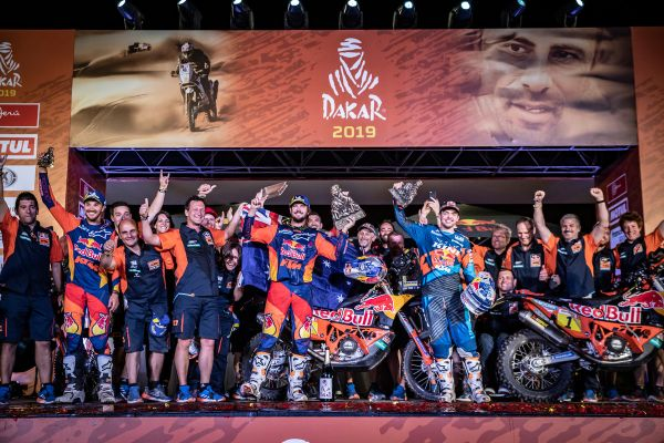 Red Bull KTM Factory Racing 2019 Dakar Rally review