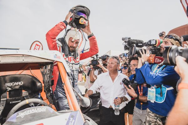 Chile's Francesco Lopez seals second successive side-by-side Dakar victory