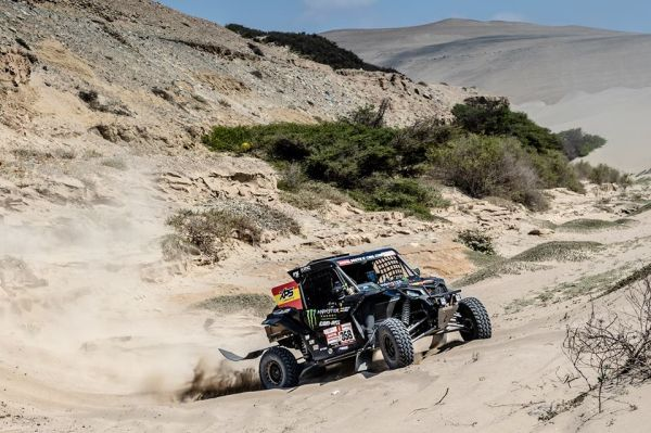 Monster Energy Can-Am Team finish second, third and fourth in gruelling Dakar Rally