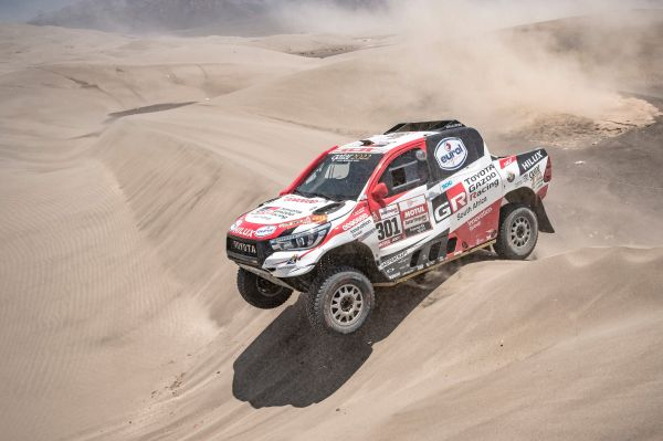 Nasser Saleh Al-Attiyah wins his third title as Toyota claim first ever Dakar Rally win