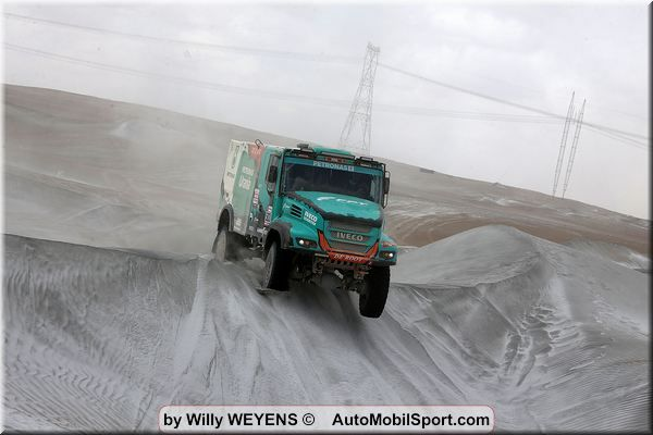 Dakar Rally podium finish for Team De Rooy on Goodyear truck tyres