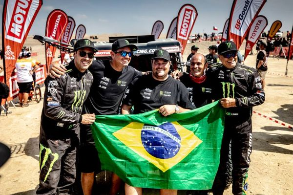 Monster Energy Can-Am Team's Reinaldo Varela heads to Qatar Rally for T3 glory