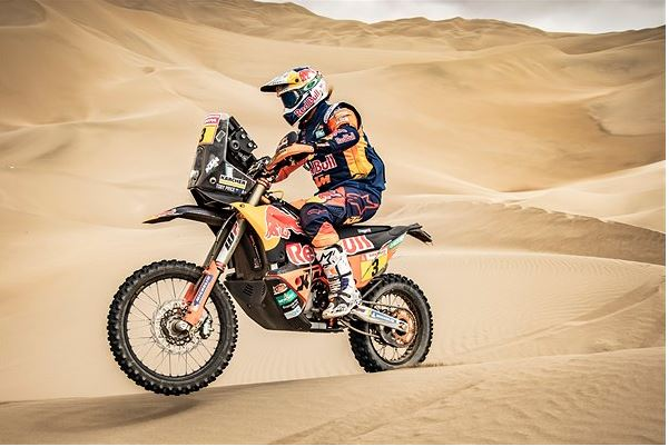 Toby Price takes bikes victory in Dakar Rally 2019 and nr.18 for KTM