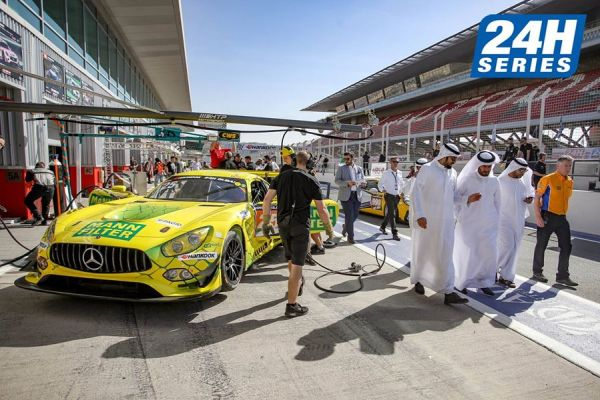24h Dubai GT Qualifying overall classification