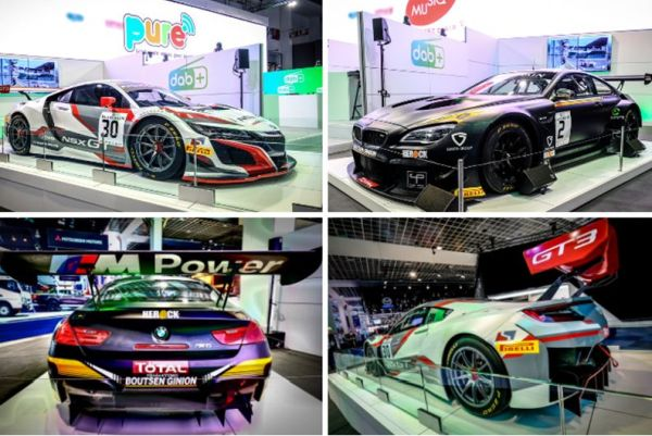 Total 24 Hours of Spa and RTBF put GT3 machinery on display at Brussels Motor Show
