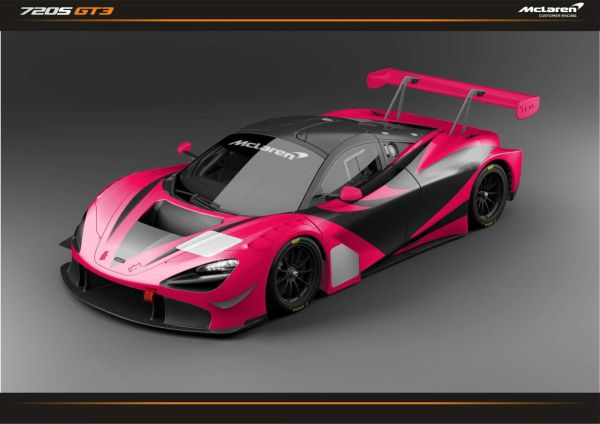 McLAREN 720S GT3 to run with the new GT3 customer team in Japan