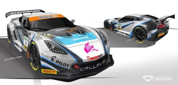 New look for Callaway Competition in the ADAC GT Masters