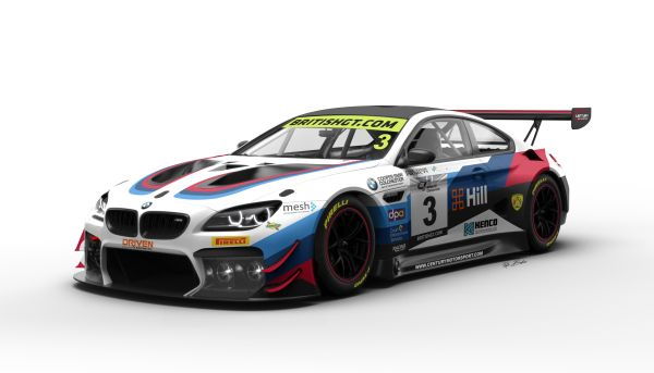 Century enter second BMW M6 GT3 with Ben Green and Dominic Paul in British GT