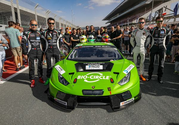 GRT Grasser Racing make superb charge up field in 24 Hours of Dubai