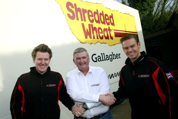 Team Shredded Wheat Racing with Gallagher confirms Tom Chilton and Ollie Jackson