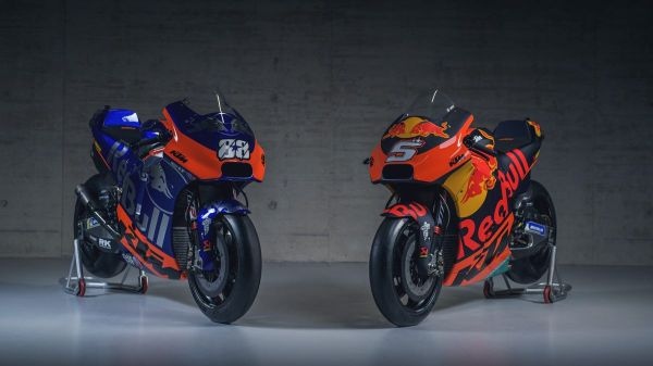 Red Bull KTM Race teams show new colours in Austrian unveiling