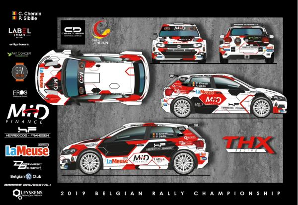 Cherain pour la gagne en VW Polo R5 THX Racing au Rally van Haspengouw!