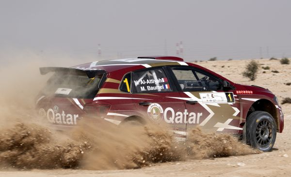 Al-Attiyah seals 14th Qatar rally win and first regional success for Volkswagen Polo GTI R5