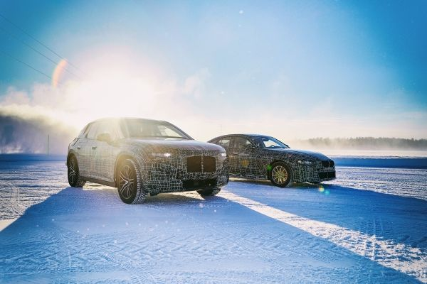 The BMW iX3, the BMW i4 and the BMW iNEXT undergo cold testing in the Arctic
