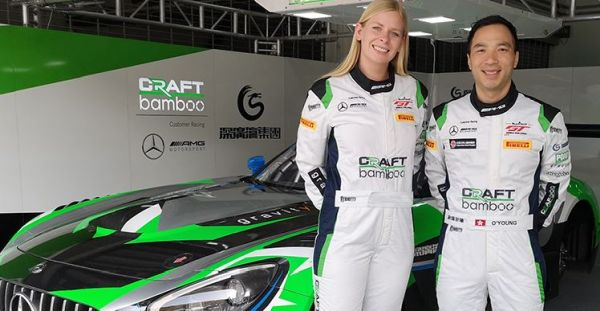 Nielsen and O'Young team up for Craft-Bamboo and Mercedes-AMG