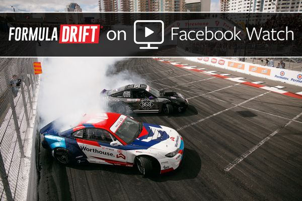 Formula Drift announches partnership with Facebook
