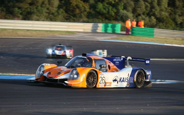 The Ligier JS P3s scored a full house at the first race of the Ultimate Cup Series at Estoril