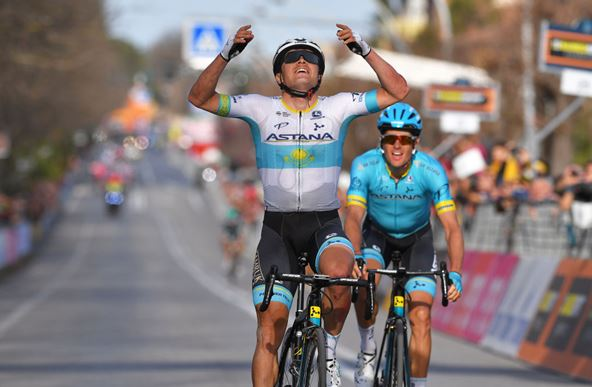 Stage win for Alexey Lutsenko in Tirreno-Adriatico