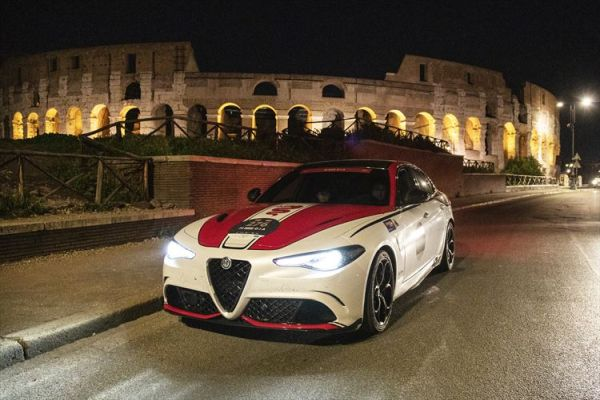 Alfa Romeo at 1000 Miglia: the second stage leads to Rome