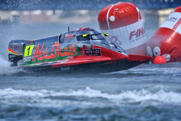 Torrente leads from start to finish to win UIM F1H2O GP of Portugal