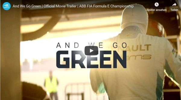 "FORMULA E documentary ""And we go green"" to premiere at Cannes Film Festival"