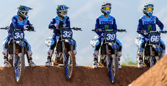 Monster Energy Star Yamaha Racing Team Look to Keep Supercross Success Rolling into the Outdoor Season