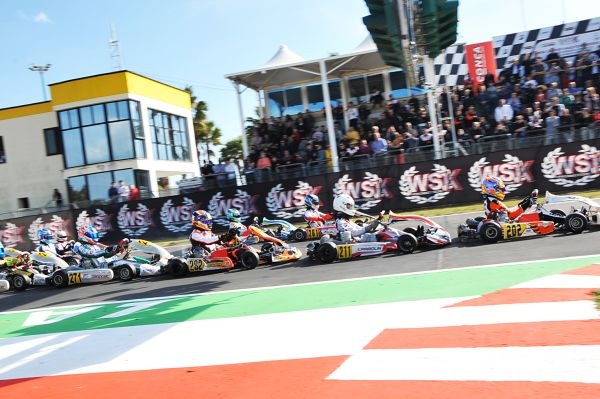 Switches on top of WSK Super Master Series ahead of Sarno