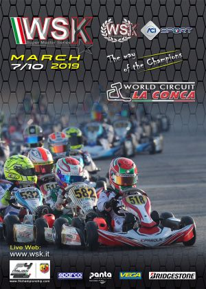 Third round of the WSK Super Master Series in Muro Leccese