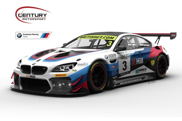 British GT: Century Motorsport expands its GT3 involvement.
