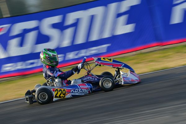 Good performance but not much luck for Kosmic Kart Racing