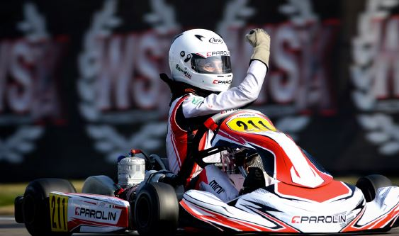Parolin Kart with superb OK win in the rubber at Muro
