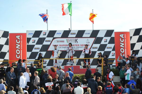 New leaders of WSK Super Masters Series after Muro Leccese