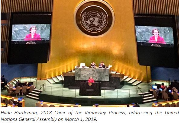 World Diamond Council welcomes UN General Assembly resolution