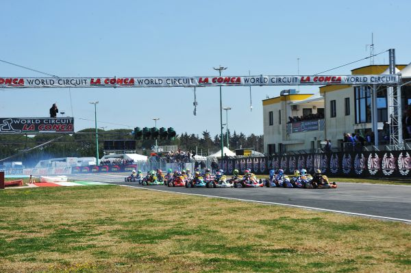 WSK Super Master Series, qualifying heats in Muro Leccese