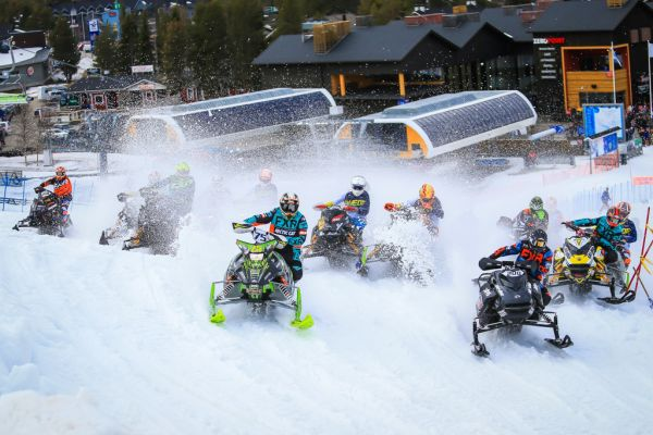 FIM Snowcross World Championship Starts in Sweden