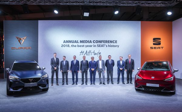 SEAT will launch six electric and plug-in hybrid models and develop a new platform in Spain for electric vehicles
