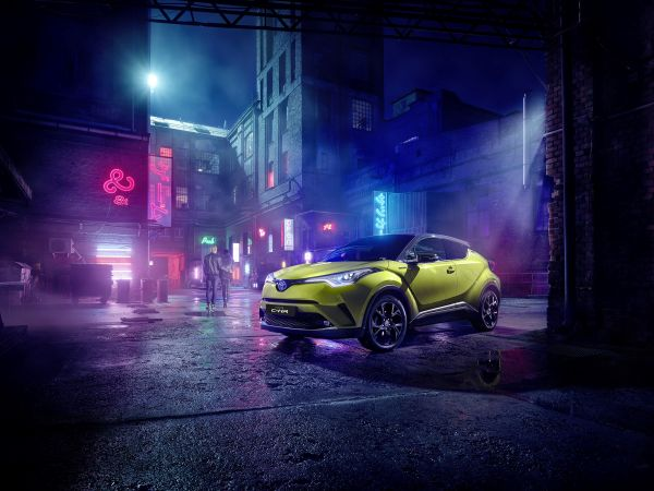 New Toyota C-HR Neon Lime powered by JBL